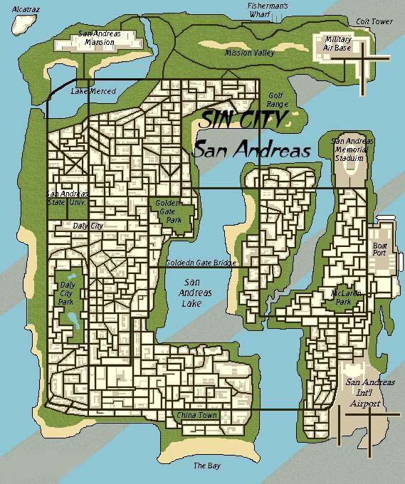 Как создать свою карту для gta sa